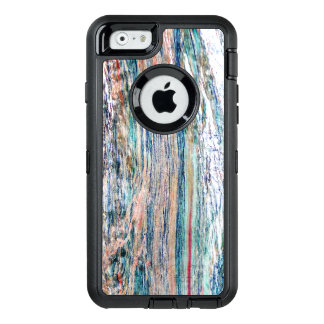 Colorful and Shiny Marble Texture OtterBox Defender iPhone Case