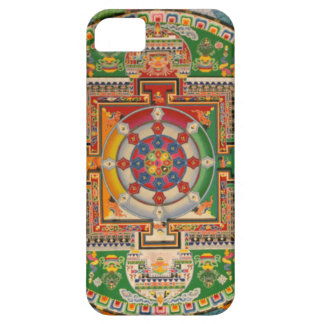 Colorful and Unique Buddhist Mandala iPhone case