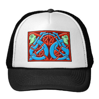 Colorful Antique Celtic Art Tees and Gifts Trucker Hat