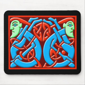 Colorful Antique Celtic Art Tees and Gifts Mouse Pad