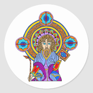Colorful Antique Celtic Art Tees and Gifts Stickers