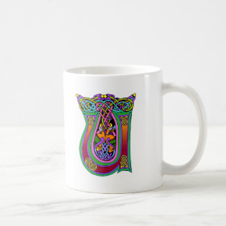 Colorful Antique Style Celtic Art Gifts and Tees Coffee Mugs