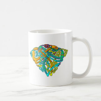 Colorful Antique Style Celtic Art Gifts and Tees Mugs