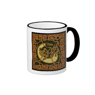 Colorful Antique Style Celtic Art Gifts and Tees Coffee Mug