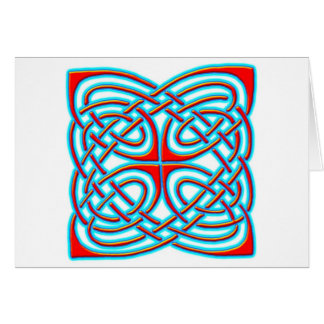 Colorful Antique Style Celtic Art - Great Gift Greeting Cards