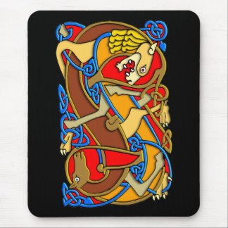 Colorful Antique Style Celtic Art - Great Gift! Mouse Pad