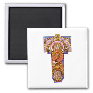 Colorful Antique Style Celtic Art - Great Gift! Square Magnet