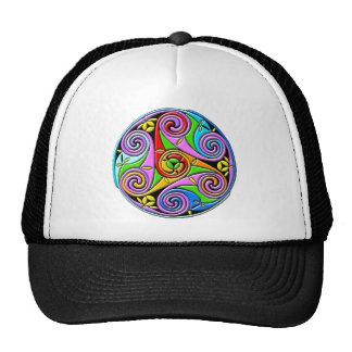 Colorful Antique Style Celtic Art Hats
