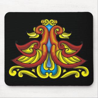Colorful Antique Style Celtic Art Mouse Pad