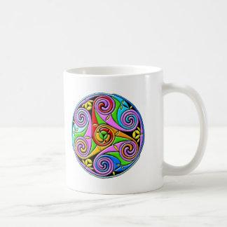 Colorful Antique Style Celtic Art Mug