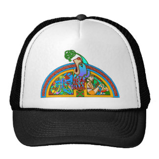 Colorful Antique Style Celtic Art Tees and Gifts Mesh Hats