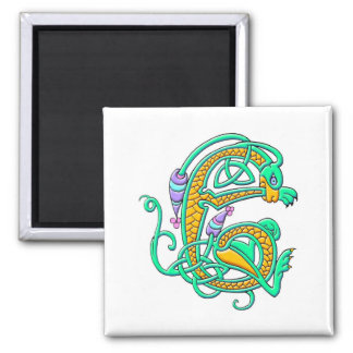 Colorful Antique Style Celtic Art Tees and GIfts Refrigerator Magnets