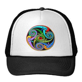 Colorful Antique Style Celtic Art Trucker Hat