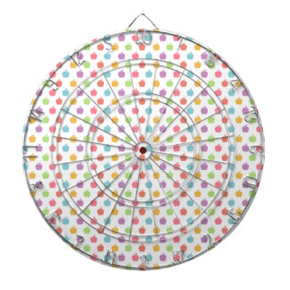 Colorful Apples Dartboard
