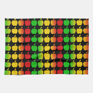 Colorful Apples kitchen towels
