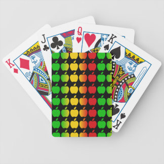 Colorful Apples playing cards