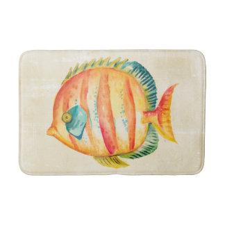 Colorful Aquarium Fish Bath Mat