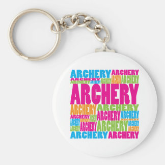 Colorful Archery Key Ring