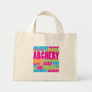 Colorful Archery Mini Tote Bag