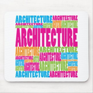 Colorful Architecture Mouse Pad