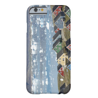 Colorful architecture of the town, Narsaq, Barely There iPhone 6 Case