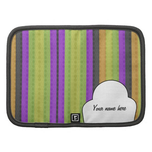Colorful Argyle Personalized Planners