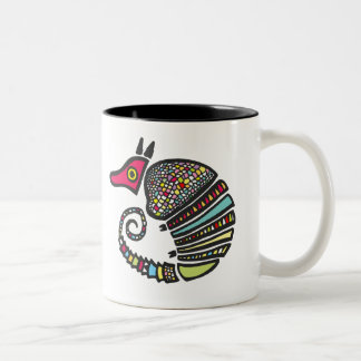 Colorful Armadillo Mug