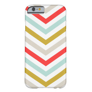 Colorful Arrow Chevron Stripes Barely There iPhone 6 Case