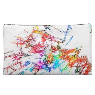 Colorful Art Cosmetics Bags