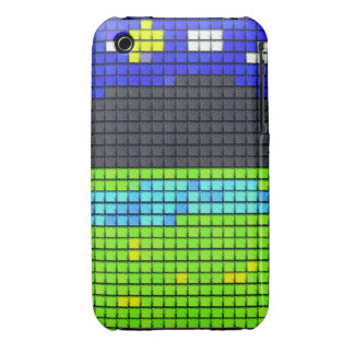 colorful art fabric iPhone 3 case