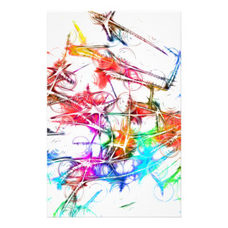 Colorful Art Personalized Flyer