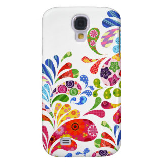 Colorful Art Galaxy S4 Case