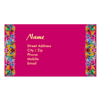 Colorful Art Pack Of Standard Business Cards