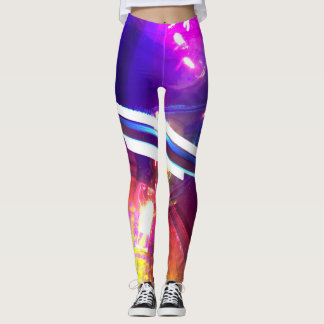 Colorful Artistic Leggings