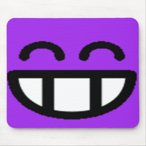 Colorful Assorted Smileys(See Description) Mousepad