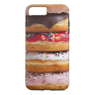 Colorful Assorted Sprinkles Chocolate Sweet Donuts iPhone 8 Plus/7 Plus Case