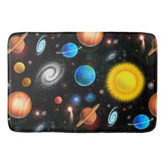 Colorful Astronomy Space Bath Mat Bath Mats