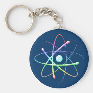 Colorful Atom (008) - keychain