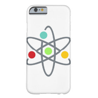 Colorful Atom Scientific White iPhone 6 Case Barely There iPhone 6 Case