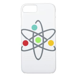 Colorful Atom Scientific White iPhone 7 Case