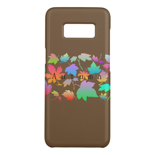 Colorful autumn leaves Case-Mate samsung galaxy s8 case