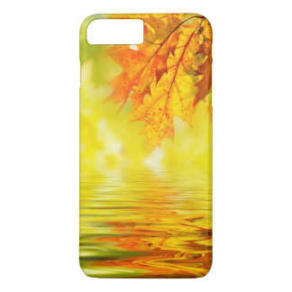 Colorful autumn leaves reflecting in the water iPhone 8 plus/7 plus case