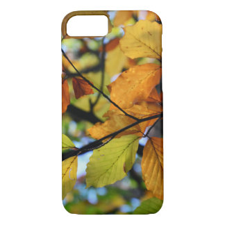 Colorful autumn leaves scenery iPhone 7 case