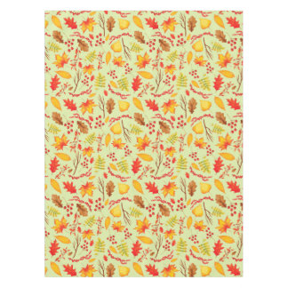 Colorful Autumn Leaves Tablecloth