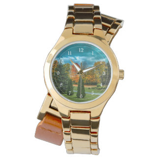 Colorful Autumn Scenic Photo Watch