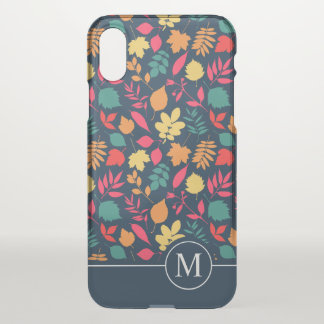 Colorful Autumn Seamless Ditzy | iPhone X Case