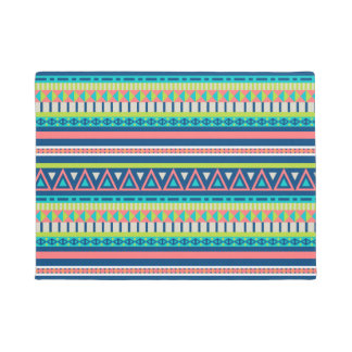 Colorful Aztec Abstract Pattern Doormat