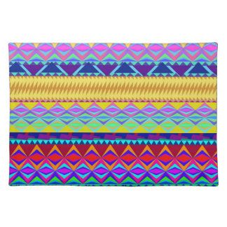 Colorful Aztec Design Placemat