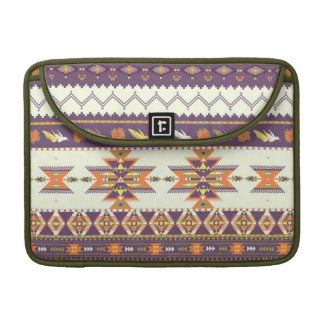 Colorful aztec pattern sleeve for MacBook pro