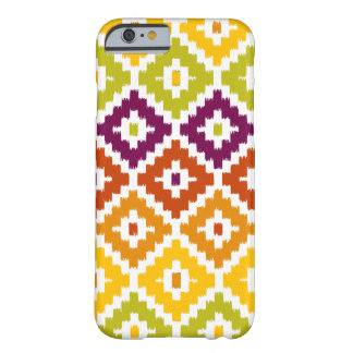 Colorful Aztec Tribal Print Ikat Diamond Pattern Barely There iPhone 6 Case